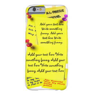 Popular Post It Fridge Notes Customize Template Barely There iPhone 6 Case