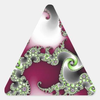 Popular Pretty Triangle Sticker