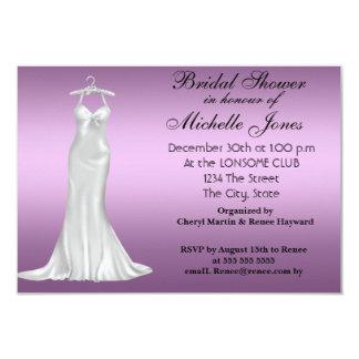 Popular Purple Bridal Shower Card