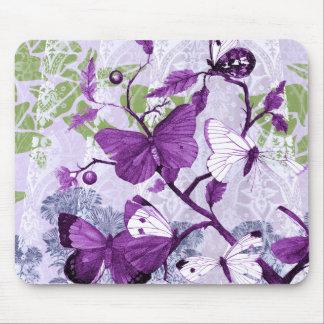 Popular Purple Butterflies Mousepad Mouse Pad