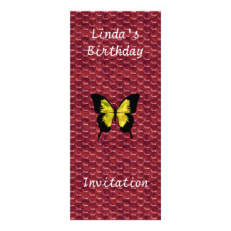 Popular Red Invitation Any Birthday or Party