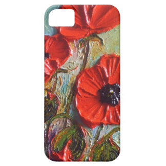 Popular Red Poppies iPhone 5 Case