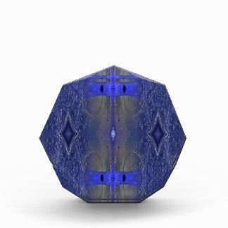Popular Royal Blue Tribal Pattern Acrylic Award