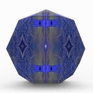 Popular Royal Blue Tribal Pattern Award