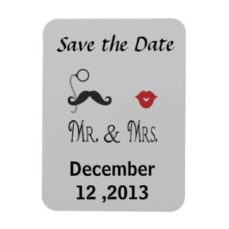 Popular Save the Date Magnet Mr. & Mrs.