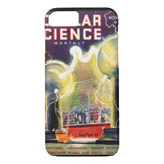 Popular Science Monthly, November 1936_Pulp Art iPhone 8/7 Case
