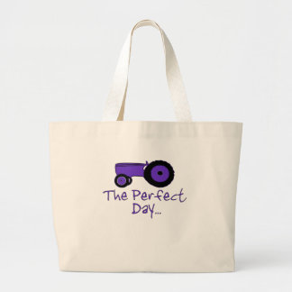 Popular tractor large tote bag