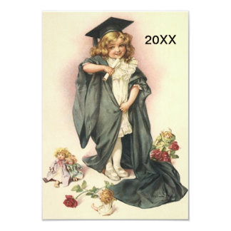 Popular Vintage Style Graduation Invitations 2012