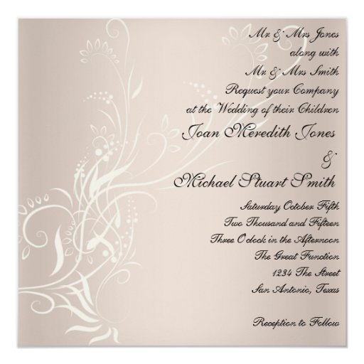 Popular Wedding Invitation Zazzle