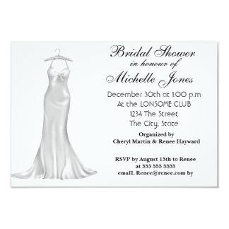 Popular White Bridal Shower White Card