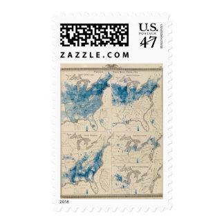 Population United States census 2 Postage