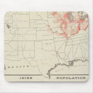 Population United States census Mouse Pad
