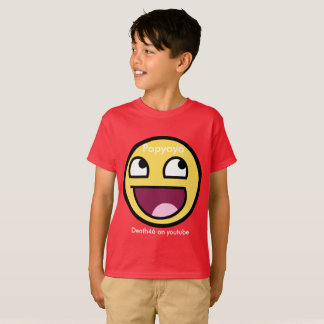 popyoyo emoji shirt medium (red)