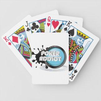 Póquer addict cartas de juego