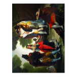 ¿Por Andaluc de Paseo? a (detalle). Pintor Goya. F Postales