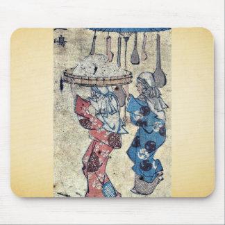 por Ando, Hiroshige Ukiyo-e. Alfombrilla De Ratón