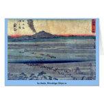 por Ando, Hiroshige Ukiyo-e. Tarjetas