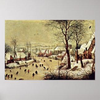 Por Bruegel D. Ä. Pieter (la mejor calidad) Póster