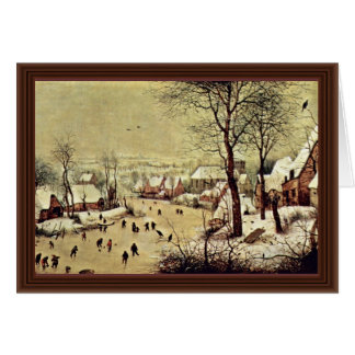 Por Bruegel D. Ä. Pieter (la mejor calidad) Tarjetón