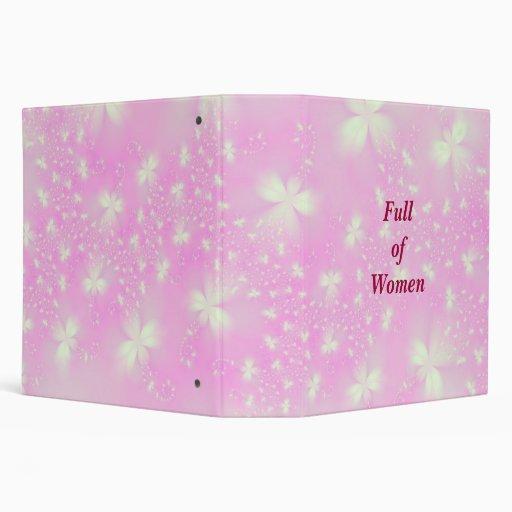 Por completo de la carpeta rosada de Flutterbyes d