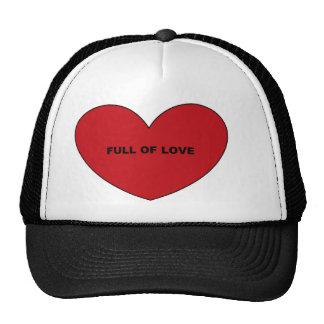 Por completo del amor gorros bordados