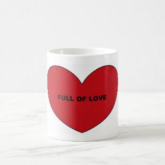 Por completo del amor taza básica blanca