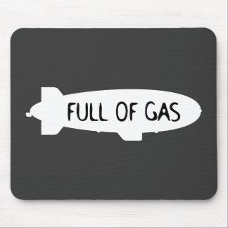 Por completo del gas - dirigible no rígido tapetes de ratones