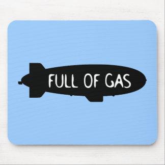 Por completo del gas - dirigible no rígido alfombrillas de ratones
