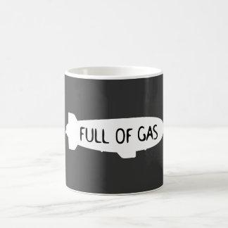 Por completo del gas - dirigible no rígido taza