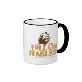 Por completo en audaz tazas de café