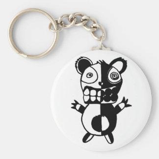 Por completo en el oso de Chompers Llaveros Personalizados