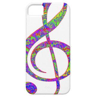 Por completo en música iPhone 5 funda