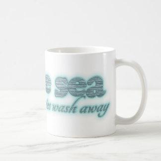 Por el mar todas sus preocupaciones quitan la taza