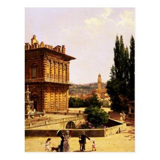 Por el palacio de Pitti, Florencia Postal