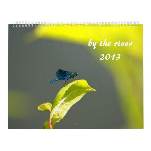 por el río 2013 calendario de pared