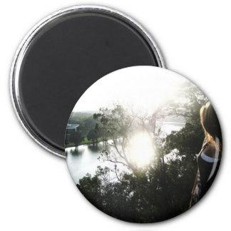 Por el río imán redondo 5 cm
