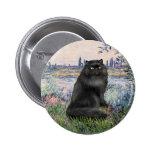 Por el Sena - gato persa negro Pins