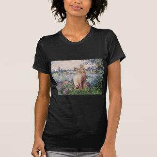 Por el Sena - gato poner crema de Sphynx Camiseta