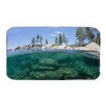 Por encima y por debajo del lago Tahoe iPhone 3 Fundas
