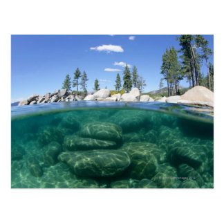 Por encima y por debajo del lago Tahoe Postales