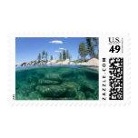Por encima y por debajo del lago Tahoe Sellos Postales