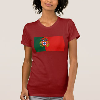 Por Fás de Portugal de Bandeira Portuguesa Classic Camisetas