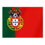 Por Fás de Portugal de Bandeira Portuguesa Tarjeta Postal
