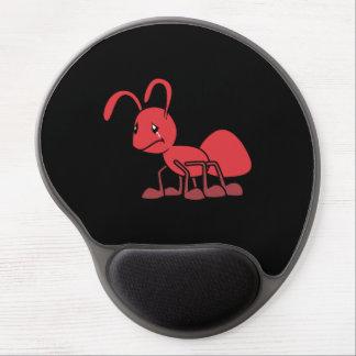 Por favor perdóneme la almohada roja gritadora de alfombrillas de ratón con gel