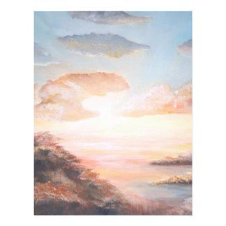 Pôr-hacer-Solenoide/puesta del sol Tarjeta Publicitaria