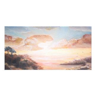 Pôr-hacer-Solenoide/puesta del sol Tarjetas Personales Con Fotos