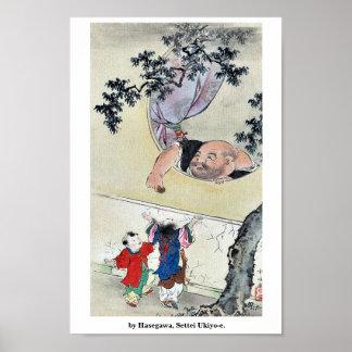 por Hasegawa, Settei Ukiyo-e. Impresiones