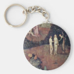 Por Hieronymus Bosch (la mejor calidad) Llavero