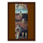 Por Hieronymus Bosch (la mejor calidad) Tarjeta