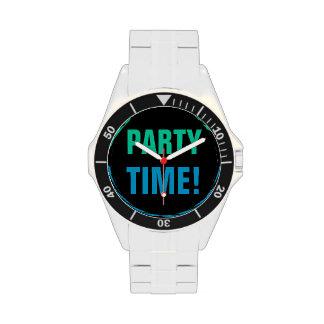 ¡POR HORAS! reloj